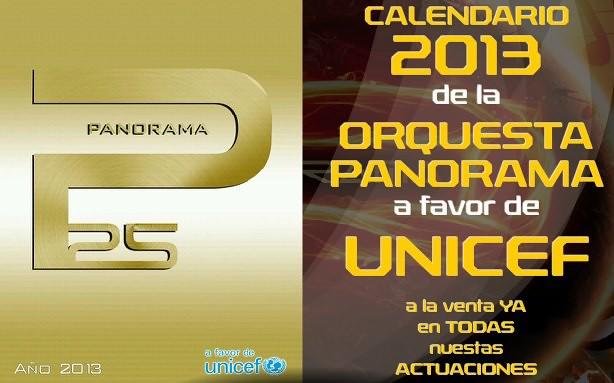 Orquesta Panorama Calendario.Orquestas Y Fiestas Calendario A Favor De Unicef De La Orquesta