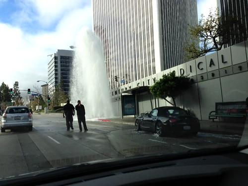 Century City water