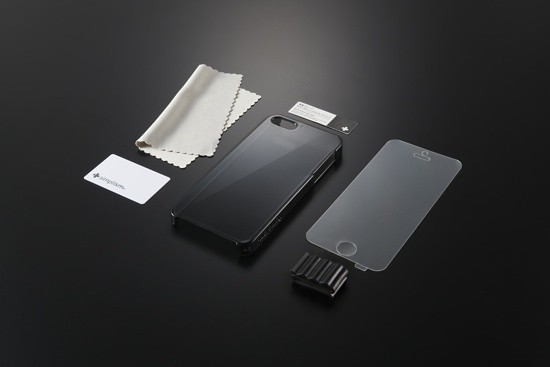 Simplism Crystal Case iPhone 5 Contents