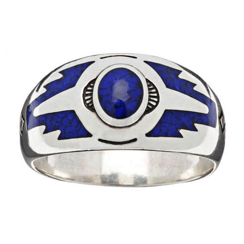 bagues-amerindiens-turquoise-argent-femmes-hommes-harpo-R163L