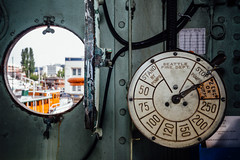 Fireboat Duwamish Engine Order Telegraph