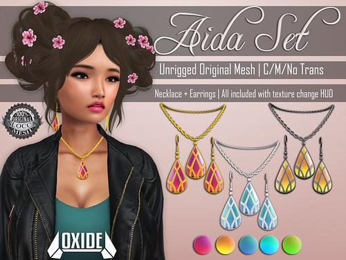 OXIDE Aida Set - SaNaRae 12