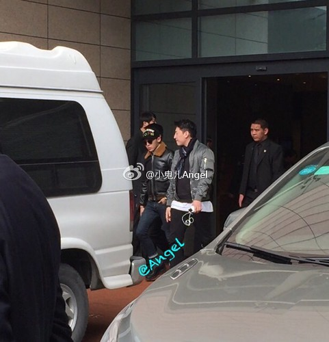 Big Bang - Shanghai Airport - 30jan2015 - 小鬼儿Angel - 01