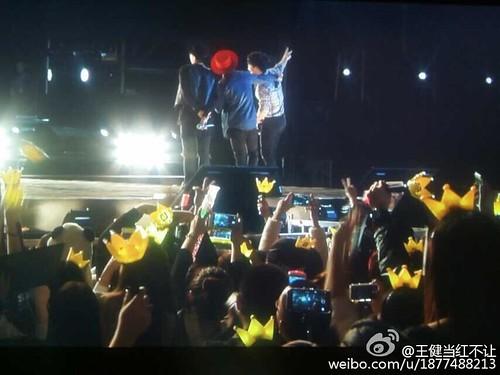 G-Dragon, Seung Ri & Tae Yang - V.I.P GATHERING in Harbin - 21mar2015 - 王健当红不让 - 07