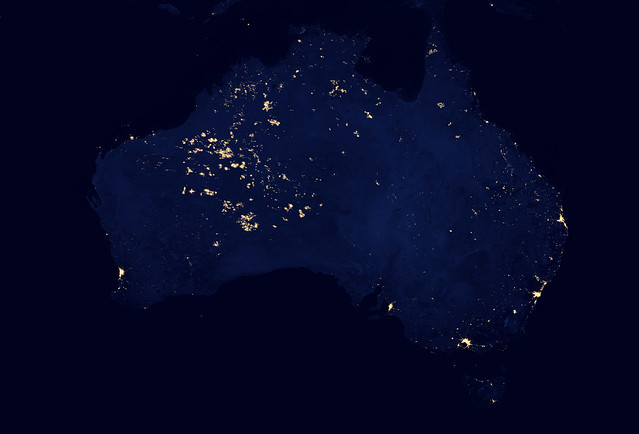 Why is Western Australia So Bright?