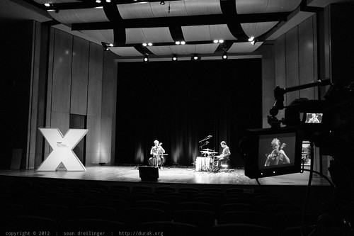 Rehearsal, Walkthrough, & Soundcheck   TEDxSanDiego 2012