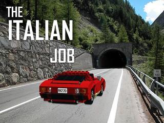 Lamborghini Miura - 'The Italian Job'