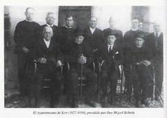 Concejanes del Ayuntamiento.