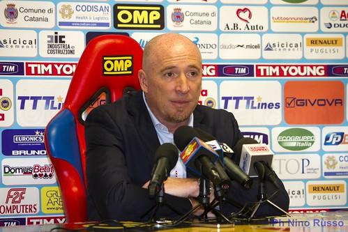 Calcio, Catania: Maran oggi in sala stampa$