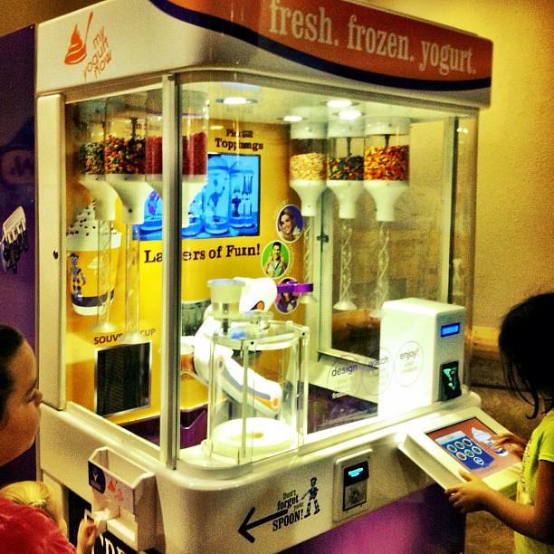 Custom Frozen Yogurt Vending Machine Pick Your Base Yogur
