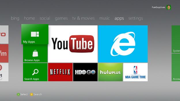 - El Xbox 360 recibirá más de 40 aplicaciones en el 2013