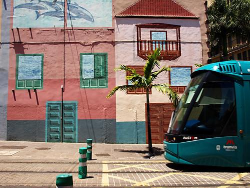 Tram, Santa Cruz, Tenerife