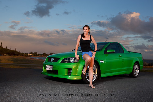 A girl and her Ute 4