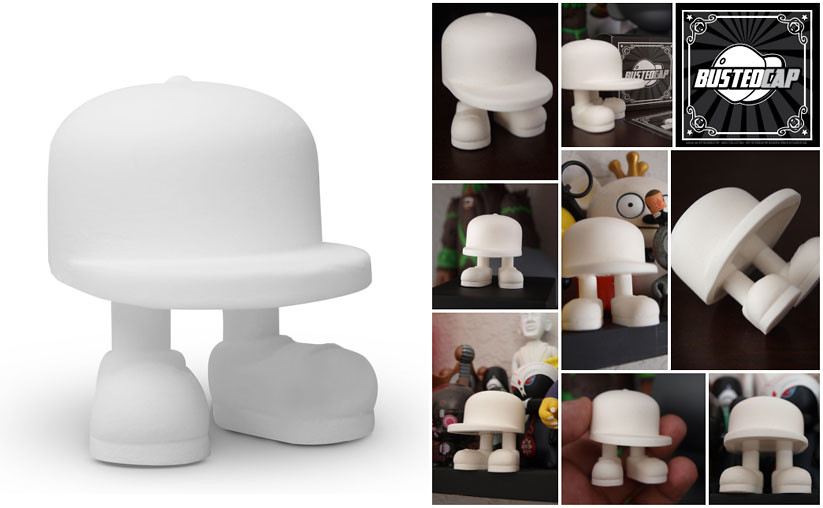 Resin Post Caps : Busted cap resin figures by ajz design