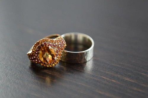 Vintage and Custom Wedding Rings