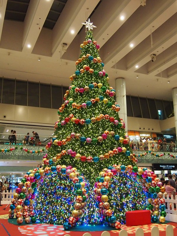Christmas tree at Marina Square, Singapore