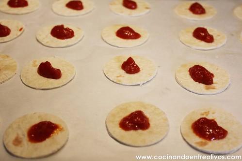 Minipizzas crujientes con queso cocina President (5)