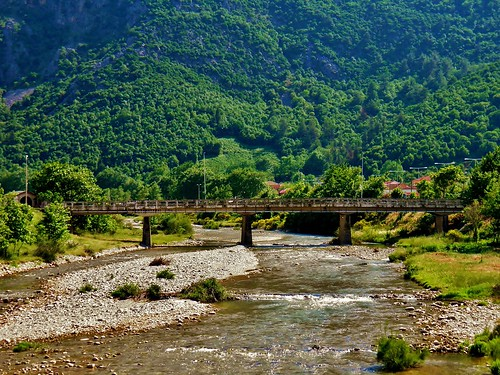 bridge mountain nature water river landscape europe village greece thessaly karditsa ελλαδα mouzaki θεσσαλια καρδιτσα μουζακι βησσαριου vissariou pamisosriver