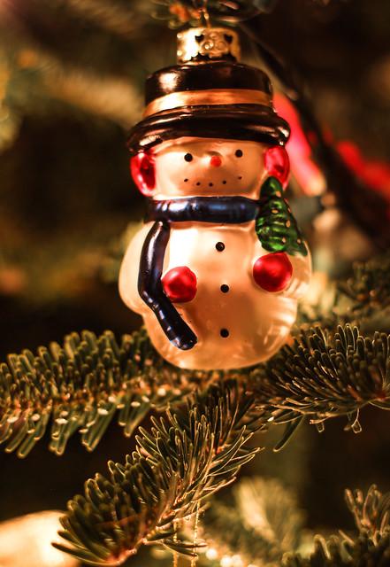 Image Decoration Bonhomme Noel