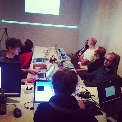 VVVV workshop. I'm psyched!
