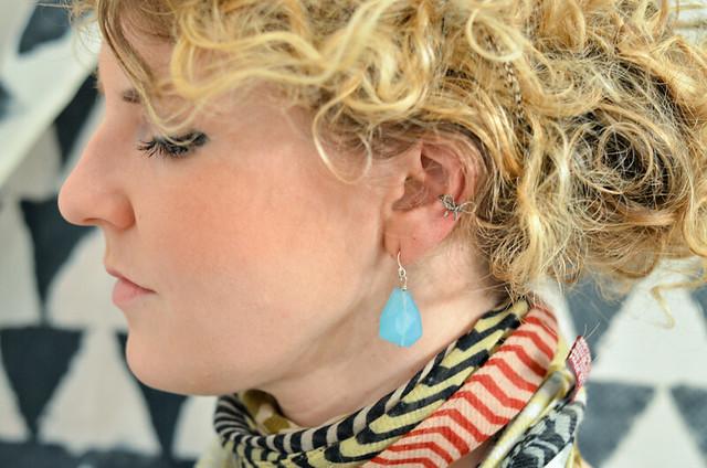 diy  how to make a bow ear cuff