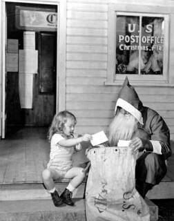 Marion Stockton and Santa Claus: Christmas, Florida