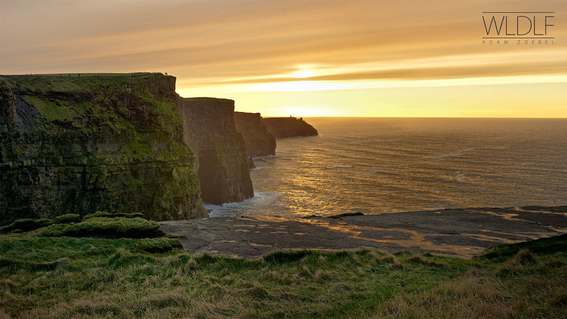 Cliffs of Moher @ sunset