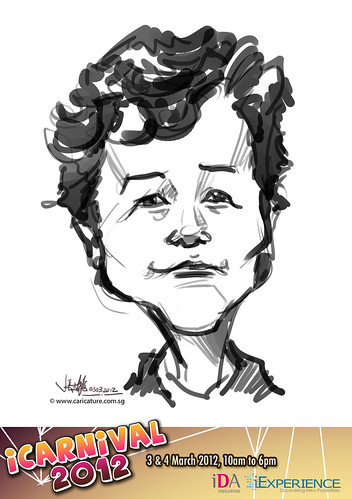 digital live caricature for iCarnival 2012  (IDA) - Day 1 - 41