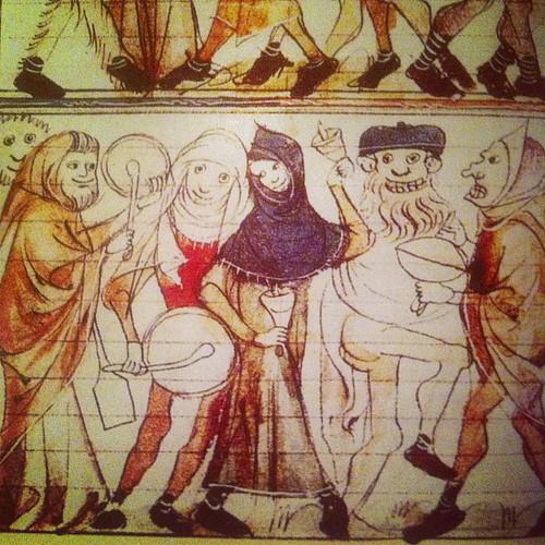 Medieval Mummery!