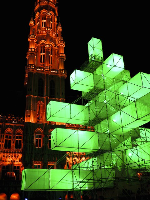The Brussels Xmas Tree in Green
