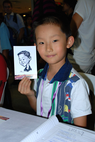 digital live caricature sketching for iCarnival (photos) - Day 2 - 62