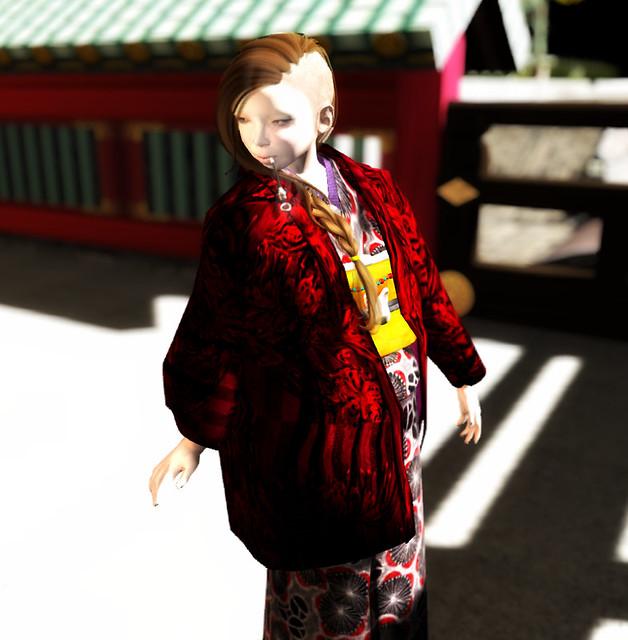 *N*GIRL's KIMONO-JACKET