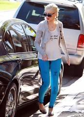 Christina Aguilera Studded Loafers Celebrity Style Women's Fashion