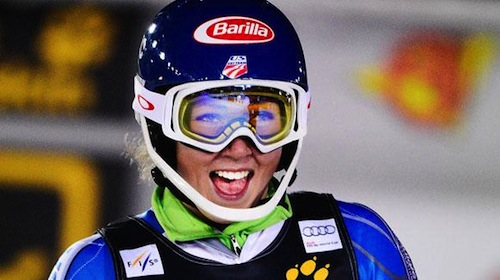 Mikaela Shiffrin, Are, Sweden