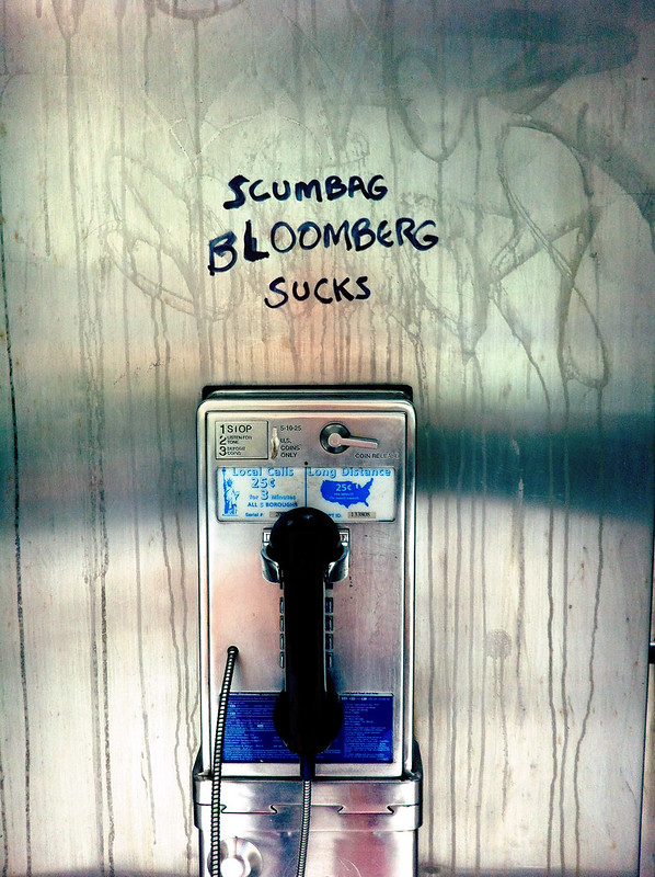 Word in the phone booth