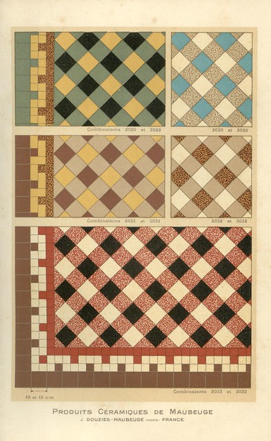 Carreaux petit catalogue (1928)