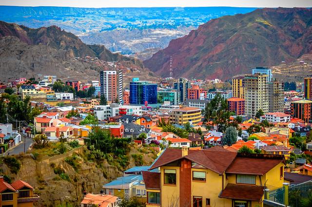 Zona Sur area of La Paz, Bolivia