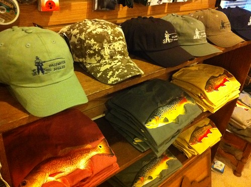 Fly Fishing Hats and T-shirts