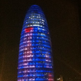 Image of Torre Agbar near GTD. instagram