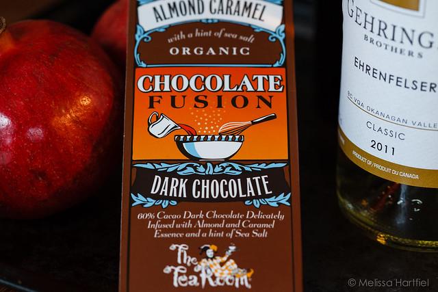 The Tea Room Almond Caramel Chocolate Bar