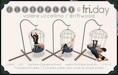 Atelier Kreslo December: floorplan & fri.day volare uccellino / driftwood