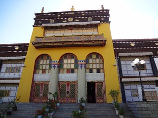 Palácio Dechen em Shigatse