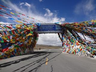 Passo de Montanha Gyatso La 5248m Tibete