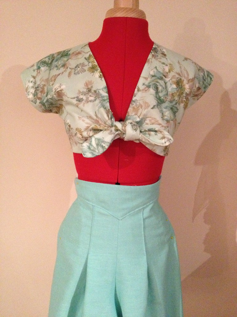 40's playsuit
