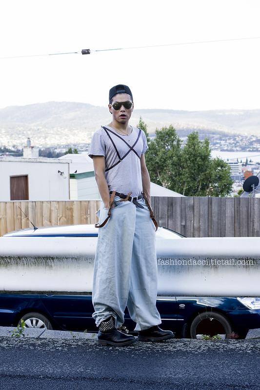 blog vintage leather suspender