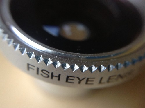 Fisheye lens by Gordon McKinlay