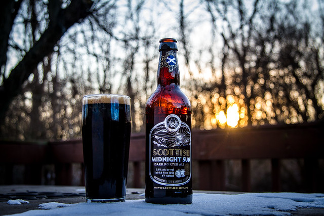 3 Beers to Christmas: Scottish Midnight Sun
