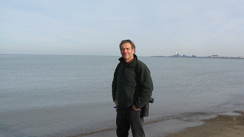 Anthony C with Lake Michigan in the background.  Hammond Indiana.  Sunday, November 25th, 2012. by Eddie from Chicago