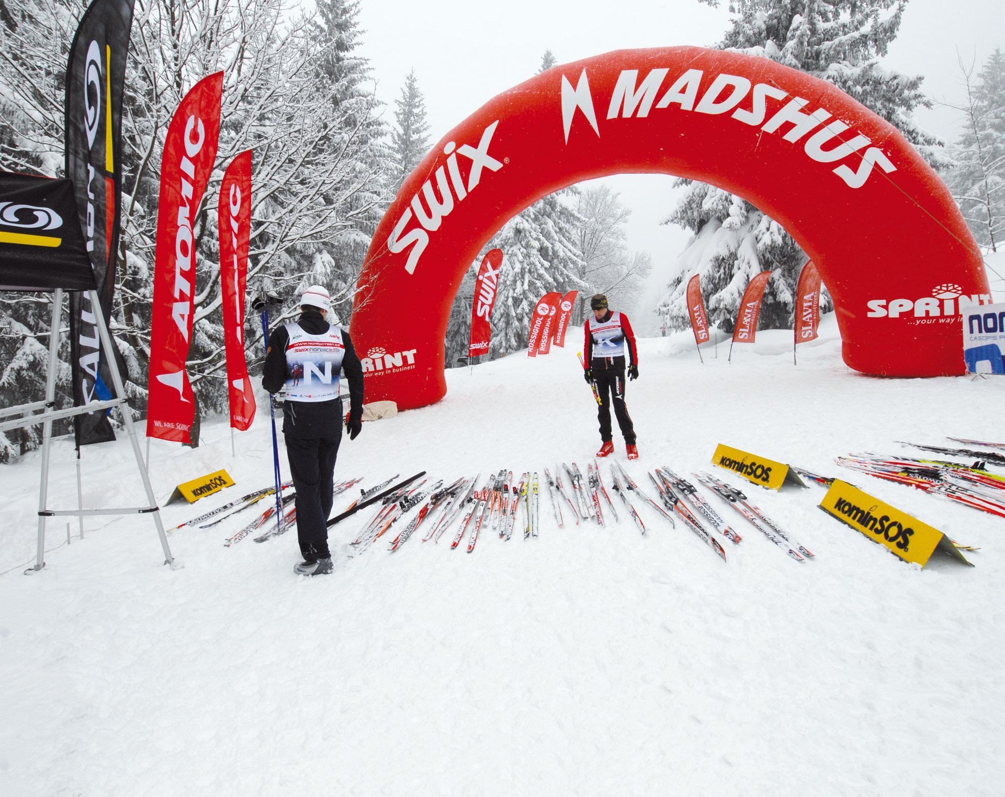 Test běžeckých lyží 2012/13