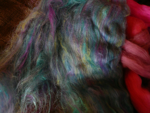 Fibre with silk 2